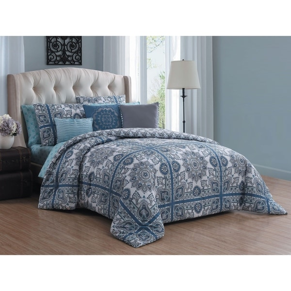 Avondale Manor Della 10-piece Comforter Set