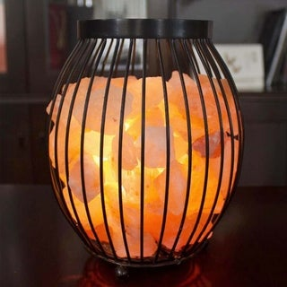 Himalayan Glow Oval Natural Salt Lamp