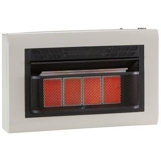 Cedar Ridge Hearth Dual Fuel Ventless Infrared Heater Model# CH4TPU - 4 Plaque, 25,000 BTU, T-Stat Control