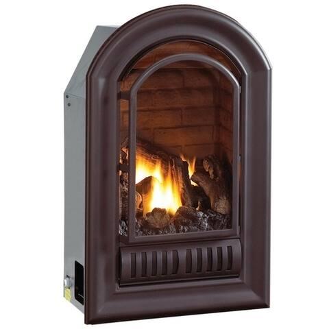 HearthSense Liquid Propane Ventless Fireplace Insert, 20K, Model ALI