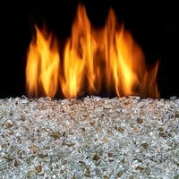 Duluth Forge Vented Fire Glass Burner Kit - 18in., 55,000 BTU, Natural Gas
