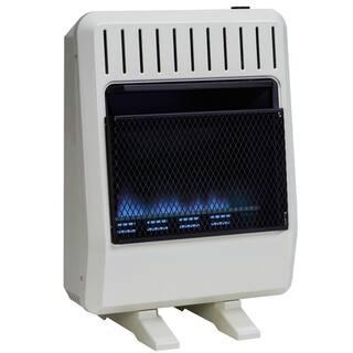 Avenger Dual Fuel Ventless Blue Flame Heater - 20,000 BTU, Model# FDT20BF