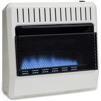 Avenger Dual Fuel Ventless Blue Flame Heater - 30,000 BTU, Model# FDT30BFA