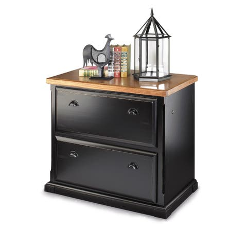 Southcrest Onyx 2 Drawer Lateral File Cabinet