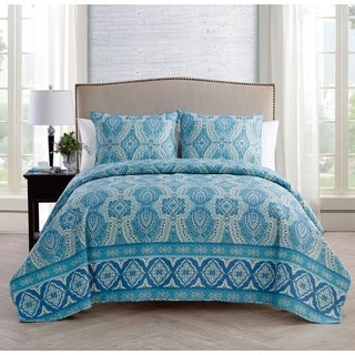 VCNY Home Oriana 3-piece Reversible Quilt Set