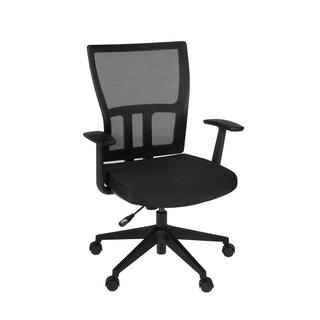 Abbi Swivel Chair- Black