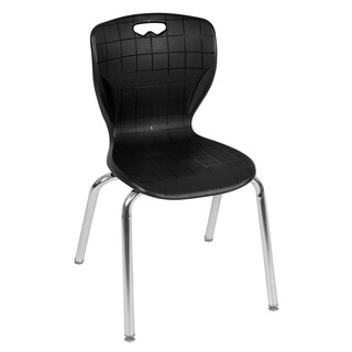 "Andy 18"" Stack Chair- Black"