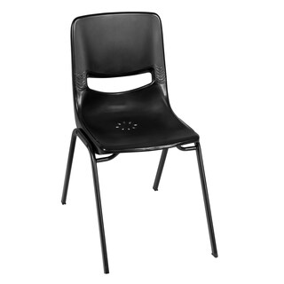 Charm Stack Chair- Black