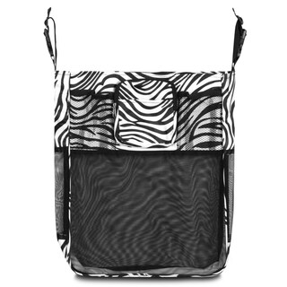 Zodaca Zebra Baby Cart Strollers Bag Buggy Pushchair Organizer Basket Storage Bag for Walk Shopping