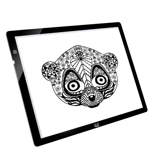 "Adesso CyberPad P2- 12"" x 17"" LED Light Tracing Pad"