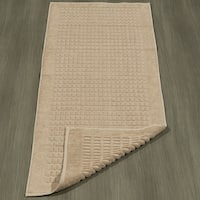 "Berrnour Home Heavyweight Cotton Towel Bath Tub Mat Runner 20""X59"""