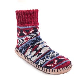 MUK LUKS® Women's Short Slipper Socks|https://ak1.ostkcdn.com/images/products/17124436/P23392095.jpg?impolicy=medium