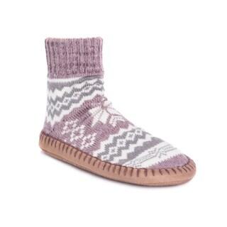 MUK LUKS Women's Short Slipper Socks|https://ak1.ostkcdn.com/images/products/17124646/P23392301.jpg?_ostk_perf_=percv&impolicy=medium