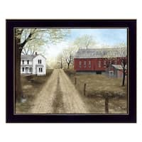 """Warm Spring Day"" By Billy Jacobs, Printed Wall Art, Ready To Hang Framed Poster, Black Frame"