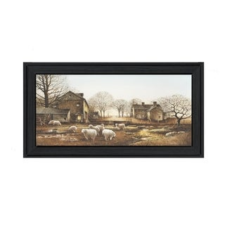 """""""Early Risers"""" By John Rossini, Printed Wall Art, Ready To Hang Framed Poster, Black Frame"""