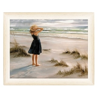 """Link to """"Black Dress"""" By Georgia Janisse, Printed Wall Art, Ready To Hang Framed Poster, White Frame Similar Items in Decorative Accessories"""