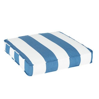 Duvall Sunbrella Cabana Regatta Indoor/ Outdoor 19 Inch Corded Chair Cushion