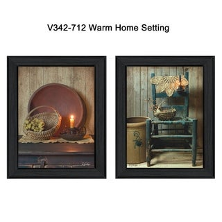 """Warm Home Setting"" by Susan Boyer Printed Framed Wall Art"
