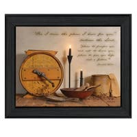 """""""The Plans I have for You"""" By Billy Jacobs, Printed Wall Art, Ready To Hang Framed Poster, Black Frame"""