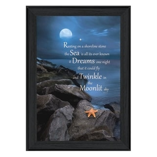 """""""The Dream"""" By Robin-Lee Vieira, Printed Wall Art, Ready To Hang Framed Poster, Black Frame"""
