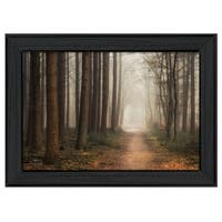 """Quiet"" By Martin Podt, Printed Wall Art, Ready To Hang Framed Poster, Black Frame"
