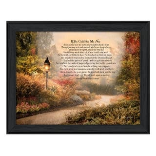 """""""If You Could See Me Now"""" By Robin-Lee Vieira, Printed Wall Art, Ready To Hang Framed Poster, Black Frame"""
