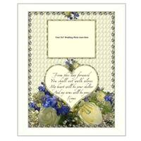 """""""From this Day"""" By Trendy Decor4U, Printed Wall Art, Ready To Hang Framed Poster, White Frame"""