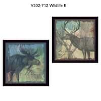 """""""Wildlife Collection"""" Collection By Barb Tourtillotte, Printed Wall Art, Ready To Hang Framed Poster, Black Frame"""