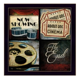 """""""At The Movies"""" by Mollie B Printed Framed Wall Art"""