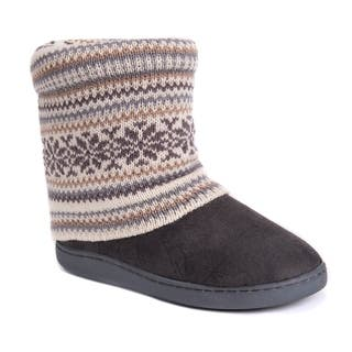 MUK LUKS® Women's Raquel Slippers|https://ak1.ostkcdn.com/images/products/17126114/P23393587.jpg?impolicy=medium