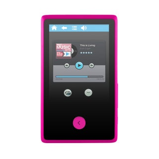 Ematic EM318VID 8 GB Pink Flash Portable Media Player (As Is Item)