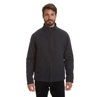 Haggar Men's Big and Tall Comfort Stretch Lightweight Water Resistant Wool Blend Jacket|https://ak1.ostkcdn.com/images/products/17126141/P23393617.jpg?impolicy=medium