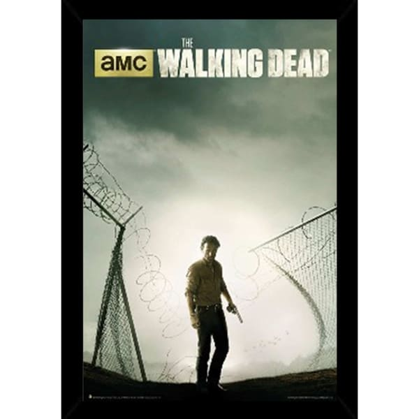 Shop The Walking Dead Season 4 Poster With Choice Of Frame 24x36