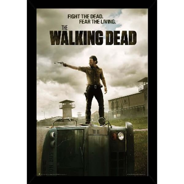 Shop The Walking Dead Jailhouse Poster With Choice Of Frame 24x36