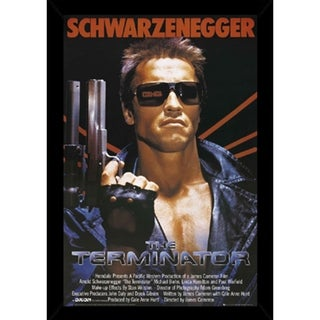 Terminator Poster With Choice of Frame (24x36)