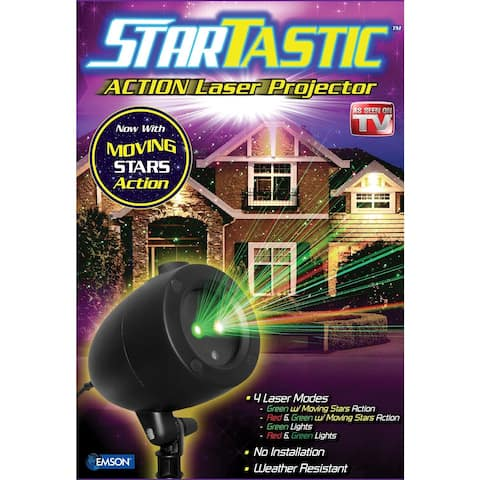 Startastic Action Outdoor Holiday Projector