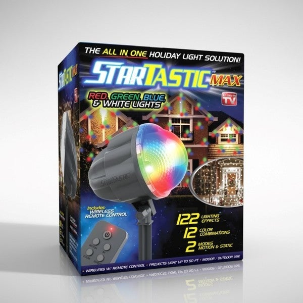 Startastic Max Holiday Laser Projector. Opens flyout.