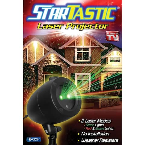 Startastic Outdoor Holiday Laser Projector
