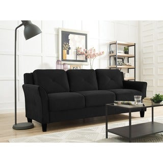 Lifestyle Solutions Harvard Microfiber Sofa (3 options available)