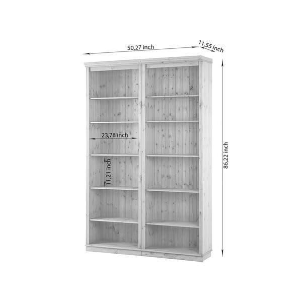 Piece 86 Inch Tall Shelving Unit