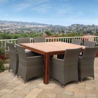 Poly Rattan 9PC Dining Set