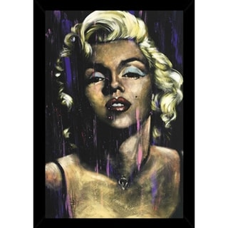 Candle In The Wind - Marilyn Monroe Poster With Choice of Frame (24x36)
