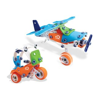 Discovery Kids Flexi Vehicles Build And Play 2 In 1 Educational Toy (120 pieces)