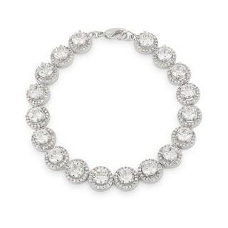 Elegant Halo Edition Classic Bracelet - CLEAR