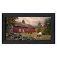 """""""The Lone Gazer"""" By Robin-Lee Vieira, Printed Wall Art, Ready To Hang Framed Poster, Black Frame"""