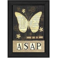 """Always Say a Prayer"" By Annie LaPoint, Printed Wall Art, Ready To Hang Framed Poster, Black Frame"
