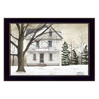 """Link to """"Winter Porch"""" By Billy Jacobs, Printed Wall Art, Ready To Hang Framed Poster, Black Frame Similar Items in Art Prints"""