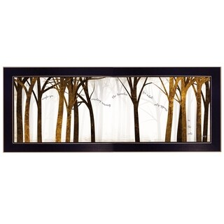 """""""In the Roots"""" By Marla Rae, Printed Wall Art, Ready To Hang Framed Poster, Black Frame"""