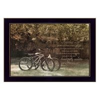 """""""Journey Together"""" By Robin-Lee Vieira, Printed Wall Art, Ready To Hang Framed Poster, Black Frame"""