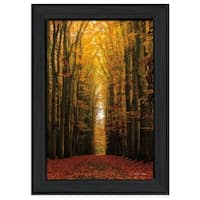 """Highway to Heaven"" By Martin Podt, Printed Wall Art, Ready To Hang Framed Poster, Black Frame"